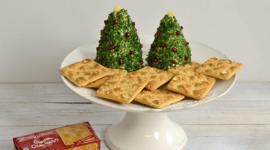 Top slider image for Χριστουγεννιάτικα δέντρα από τυριά μαζί με Cream Crackers Παπαδοπούλου