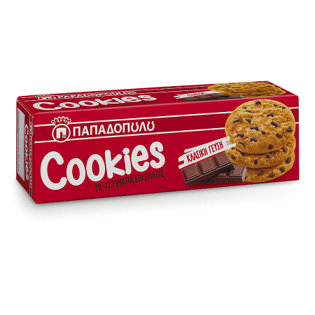 Product Image of Cookies με κομμάτια σοκολάτας