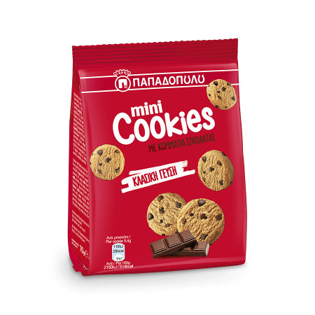 Product Image of Mini Cookies με κομμάτια σοκολάτας