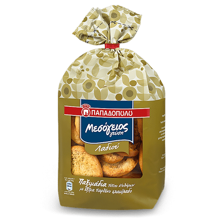 Product Image of Mesogeios Gefsi Traditional Rusks with olive oil, Kythera type