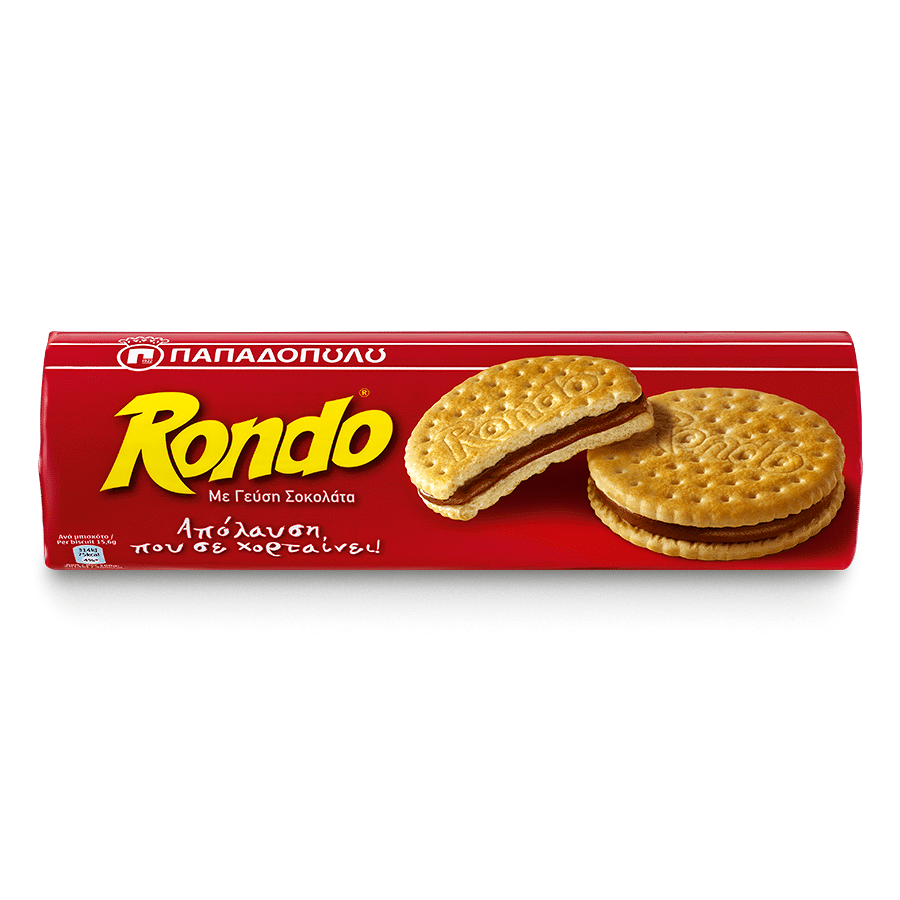 Image of Rondo with chocolate flavored cream