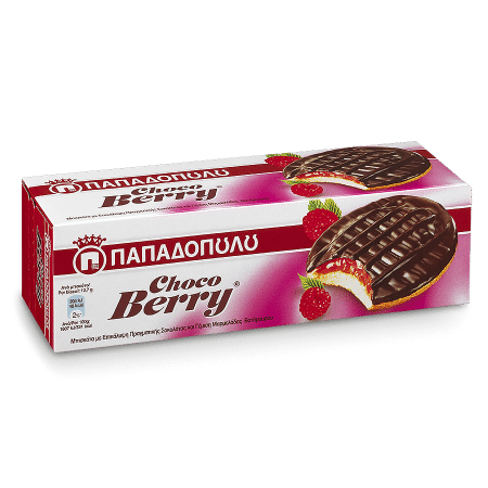 Product Image of Choco Berry with dark chocolate & berry filling
