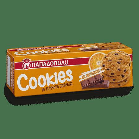 Product Image of Cookies με κομμάτια πορτοκαλιού & σοκολάτας