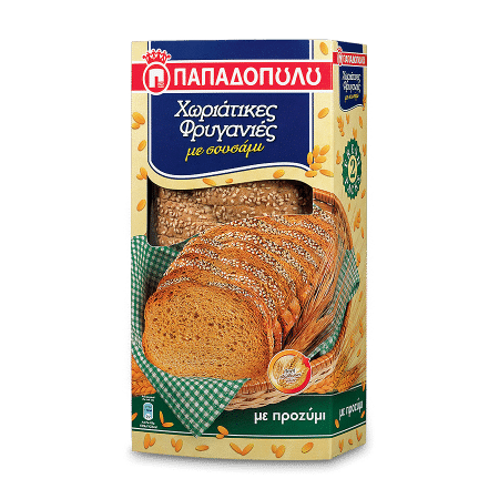 Product Image of Traditional Rusks with sesame