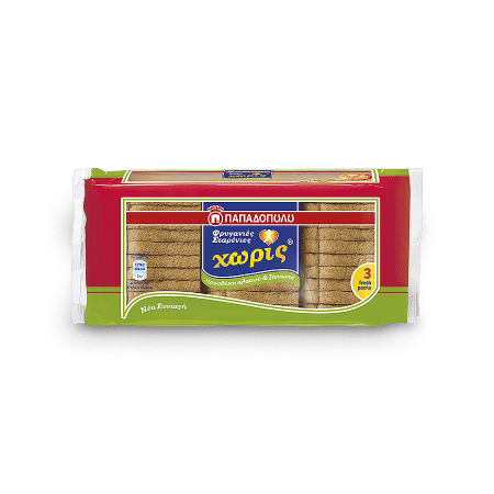 Product Image of Wheat rusks with no added sugar and salt