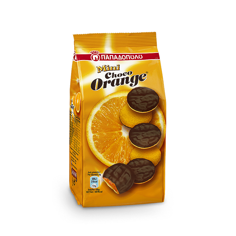 Image of Mini Choco Orange με μαρμελάδα πορτοκαλιού & σοκολάτα
