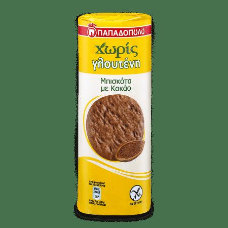 Product Image of Μπισκότα με Κακάο Χωρίς Γλουτένη