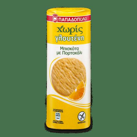 Product Image of Μπισκότα με Πορτοκάλι Χωρίς Γλουτένη