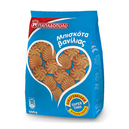 Product Image of Μπισκότα Βανίλια