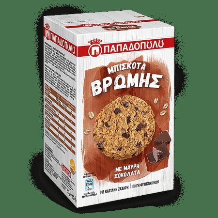 Product Image of Μπισκότα Βρώμης με μαύρη σοκολάτα