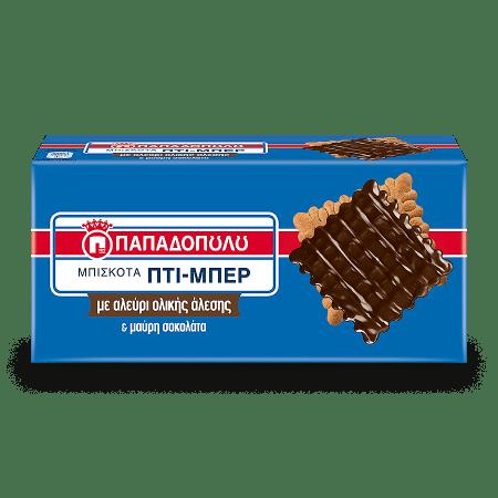 Product Image of Πτι-Μπερ ολικής άλεσης & επικάλυψη μαύρης σοκολάτας