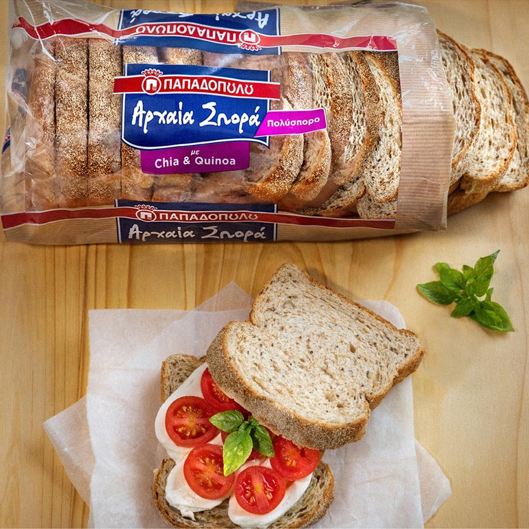 image for Σάντουιτς με άρωμα Ιταλίας, με ψωμί Αρχαία Σπορά!
