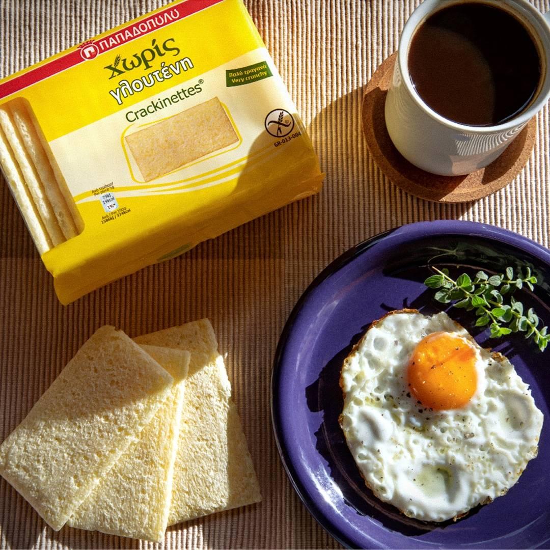 Image for Πρωινό με Crackinettes Παπαδοπούλου Χωρίς Γλουτένη