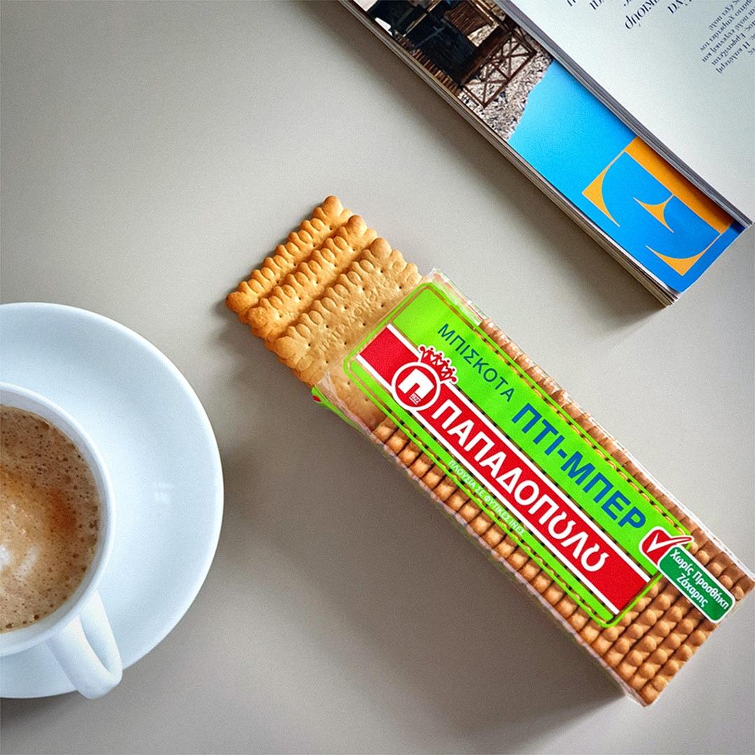 Image for Η μέρα ξεκινά με καφέ και Πτι Μπερ χωρίς προσθήκη ζάχαρης