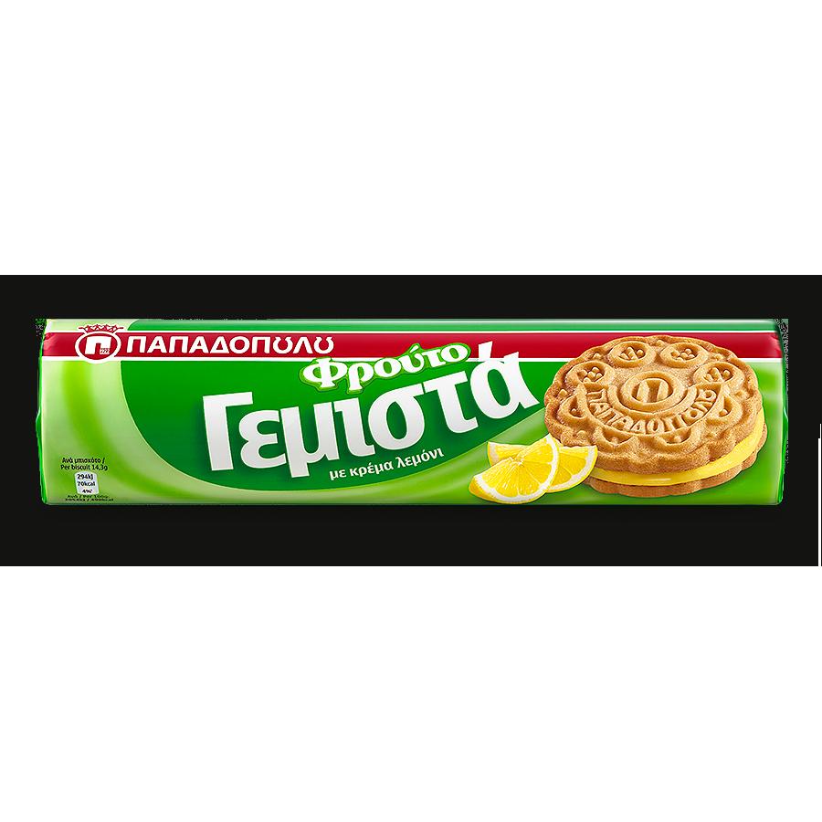 Image of ΦρουτοΓεμιστά με κρέμα λεμονιού