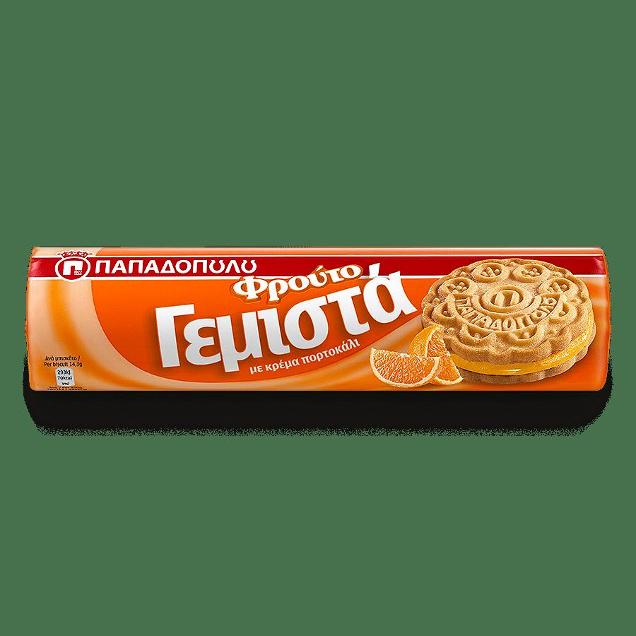 Image of ΦρουτοΓεμιστά με κρέμα πορτοκαλιού