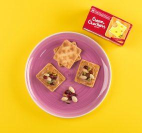 image for Πρωινό για ενέργεια με Cream Crackers, φιστικοβούτυρο και ξηρούς καρπούς