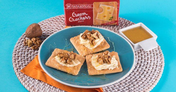image for Θρεπτικό πρωϊνό με Cream Crackers Παπαδοπούλου