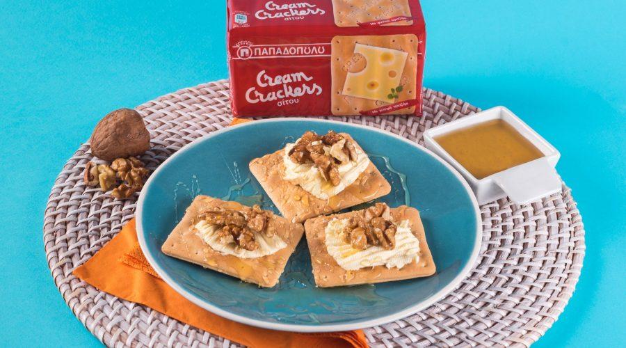 Top slider image for Θρεπτικό πρωϊνό με Cream Crackers Παπαδοπούλου