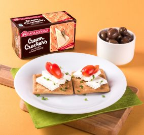 Banner for Γρήγορο, μεσογειακό γεύμα με Cream Crackers με Σίκαλη Ολικής Άλεσης