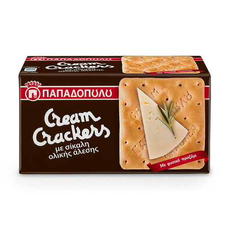 Product Image of Cream Crackers with wholegrain rye