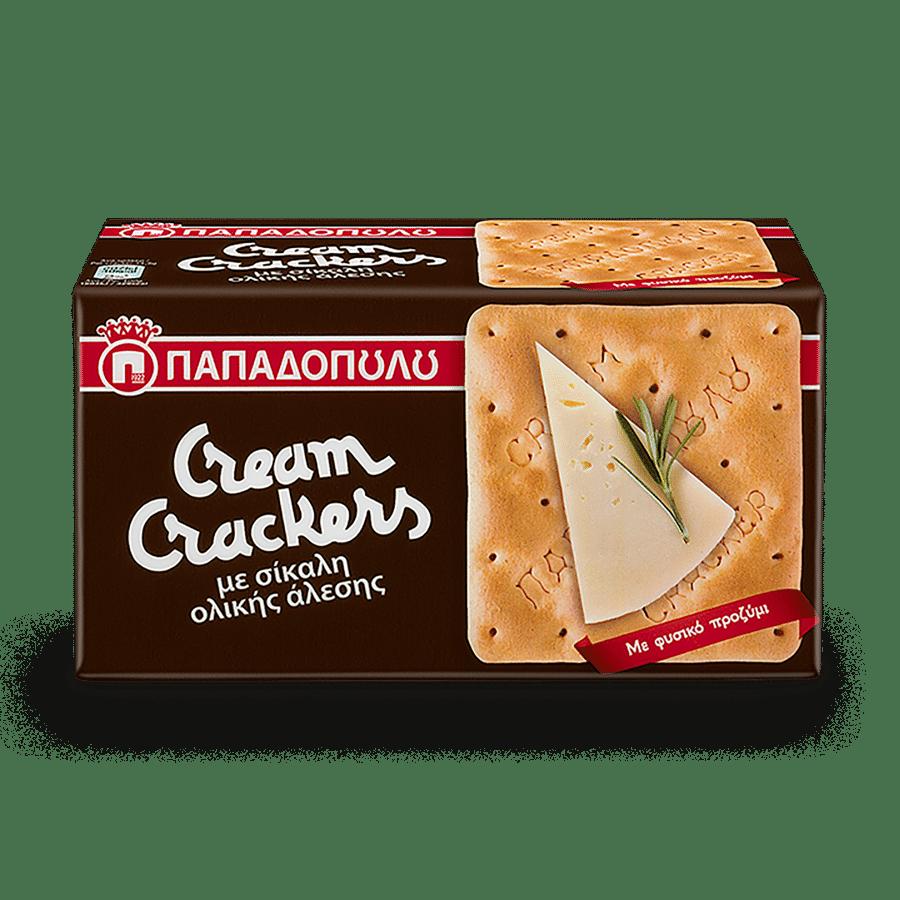 Product Image of Cream Crackers με σίκαλη ολικής άλεσης