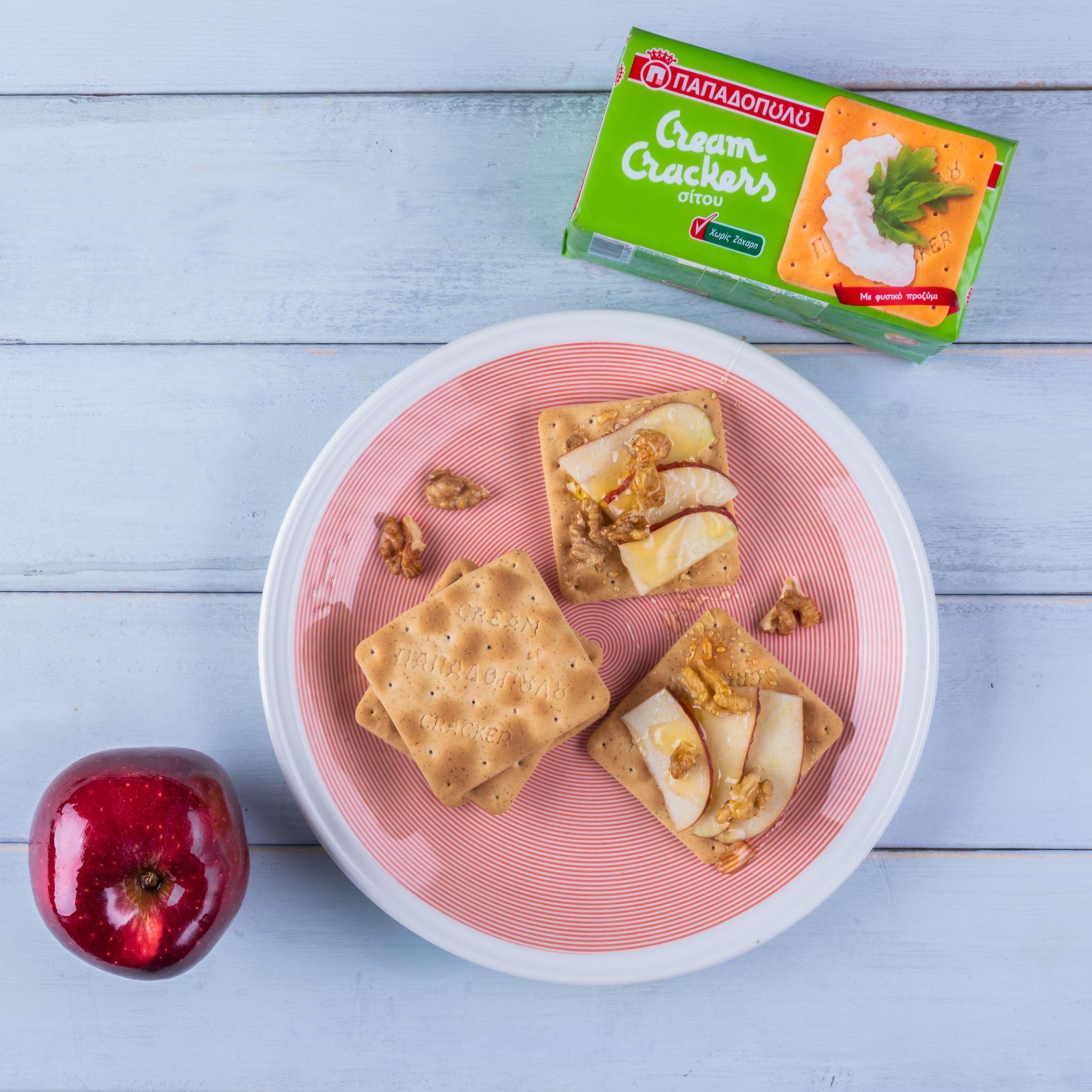Featured image for Θρεπτικό πρωινό με Cream Crackers Παπαδοπούλου χωρίς ζάχαρη