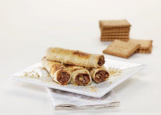 image for Γλυκά μπαστουνάκια γεμιστά με ψωμί Γεύση2 και μπισκότα Πτι Μπερ Παπαδοπούλου