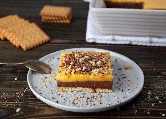 image for Γλυκό ψυγείου σοκολάτα–πορτοκάλι με Πτι Μπερ
