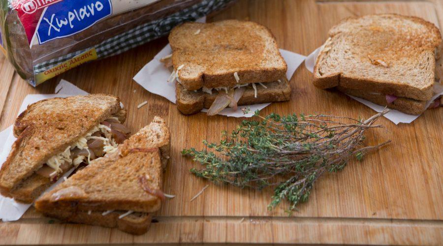 Top slider image for Grilled cheese με ψωμί σε φέτες Χωριανό Παπαδοπούλου Ολικής