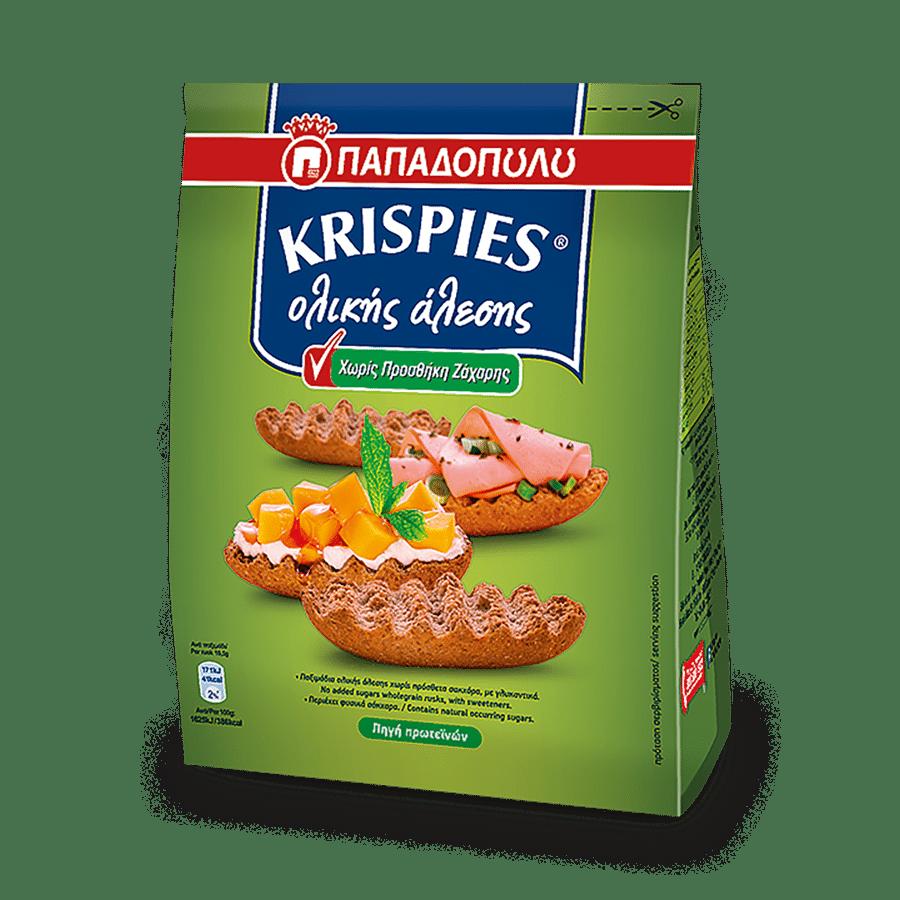 Product Image of KRISPIES ολικής άλεσης χωρίς προσθήκη ζάχαρης