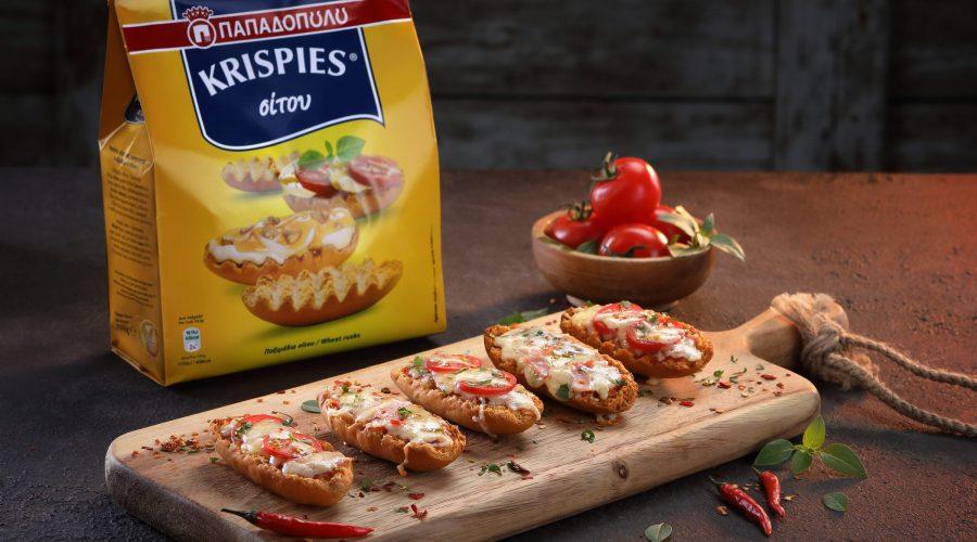Top slider image for Πιτσάκια με τυρί και KRISPIES Παπαδοπούλου