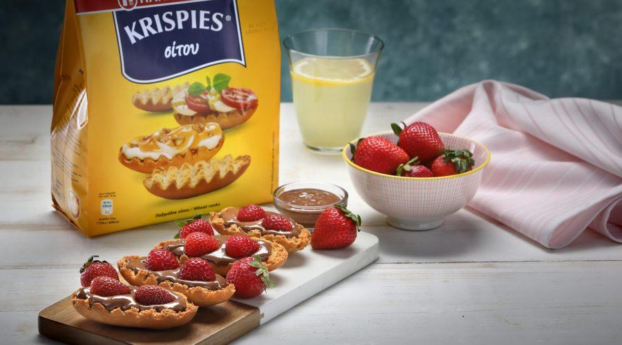 Top slider image for Άλειμμα σοκολάτας με φράουλες σε KRISPIES Παπαδοπούλου