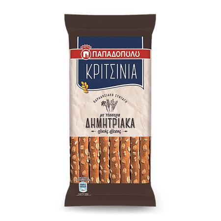 Product Image of Κριτσίνια με 4 δημητριακά ολικής άλεσης