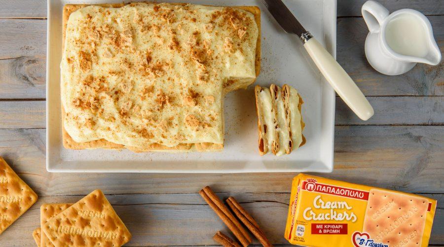 Top slider image for Μιλφέιγ με Cream Crackers Παπαδοπούλου με β-γλυκάνη
