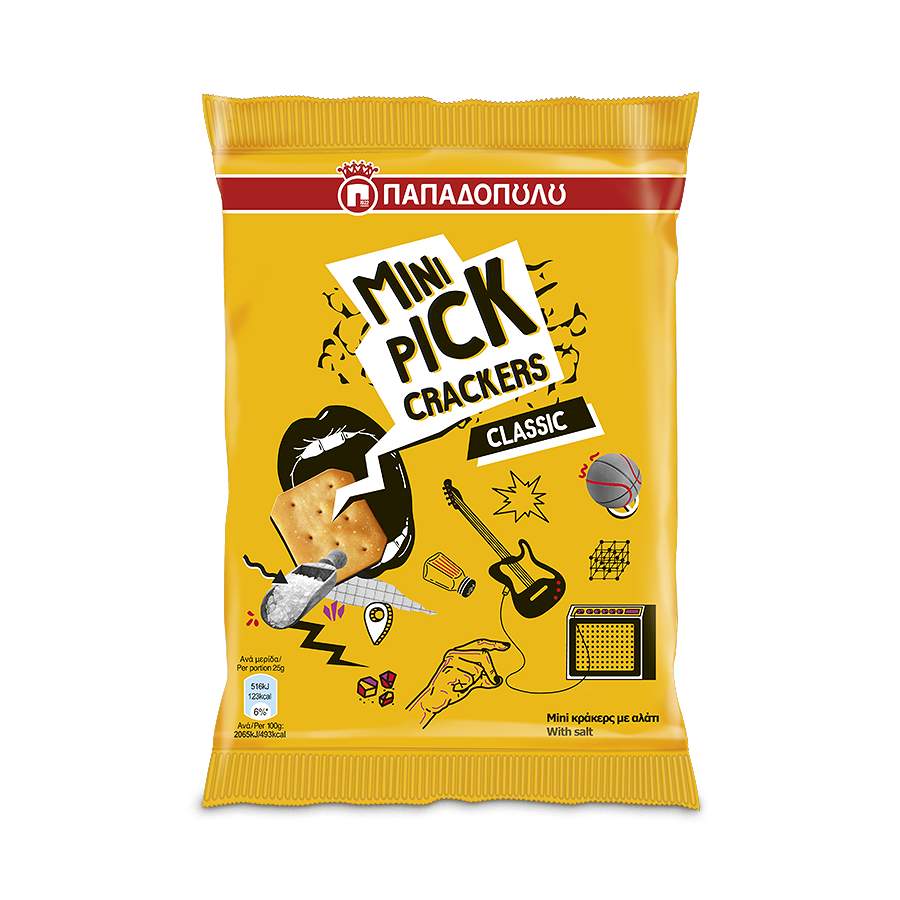 Product Image of Mini Pick Crackers Classic