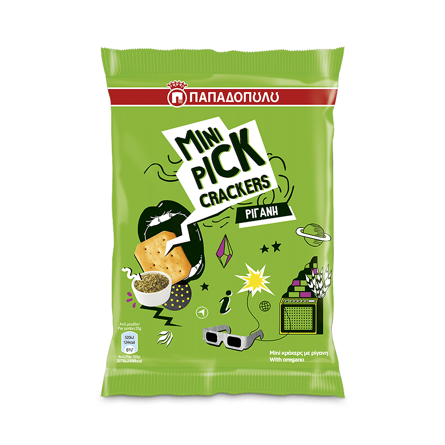 Product Image of Mini Pick Crackers Oregano