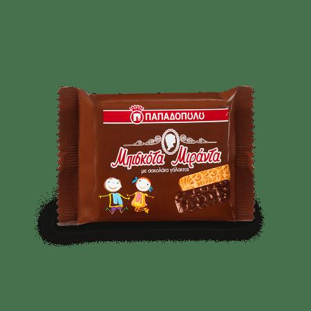 Product Image of Miranda coated with milk chocolate