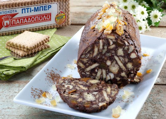 image for Μωσαϊκό με 2 σοκολάτες και Πτι Μπερ Παπαδοπούλου