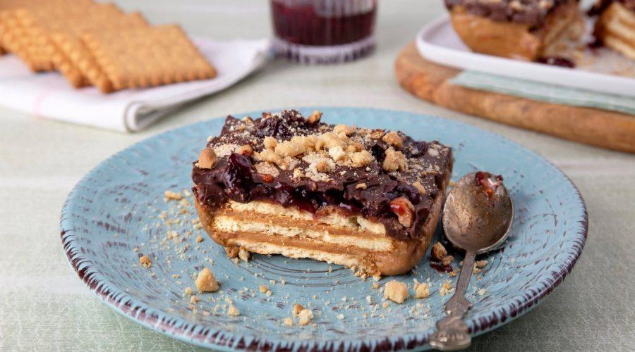 Top slider image for Μπάρες με μπισκότα Πτι Μπερ και φιστικοβούτυρο