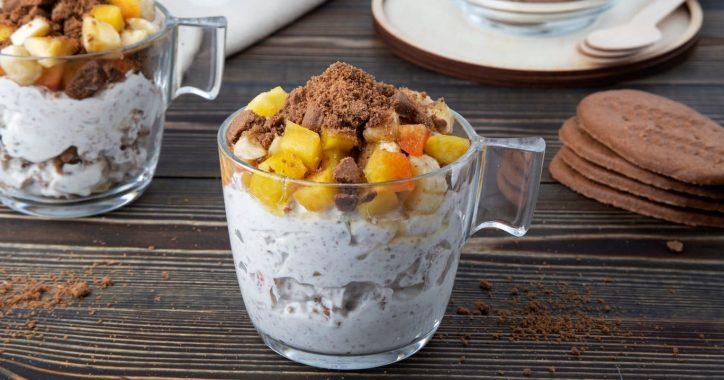 image for Ελαφρύ και δροσερό πρωινό με ΠολυΔημητριακά μπισκότα κακάο χωρίς ζάχαρη