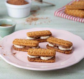 image for Παιδικά «σάντουιτς» με μπισκότα ΜΙΡΑΝΤΑ 30% λιγότερη ζάχαρη