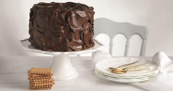 image for Σοκολατένιο fudge κέικ με Πτι Μπερ Παπαδοπούλου