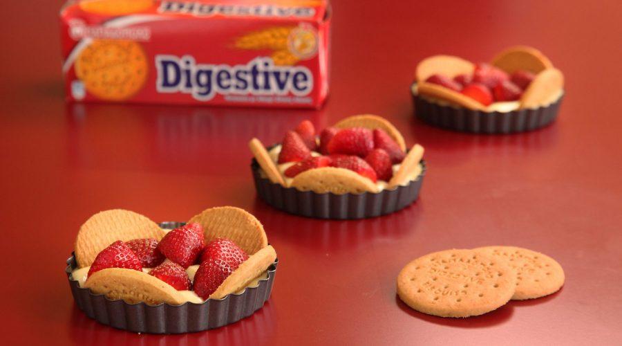 Top slider image for Τάρτα Φράουλας με Digestive Παπαδοπούλου