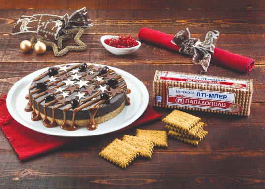image for Τούρτα σοκολάτα και καραµέλα με Πτι Μπερ Παπαδοπούλου