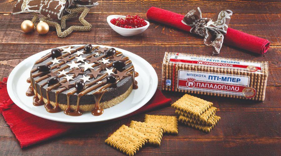 Top slider image for Τούρτα σοκολάτα και καραµέλα με Πτι Μπερ Παπαδοπούλου