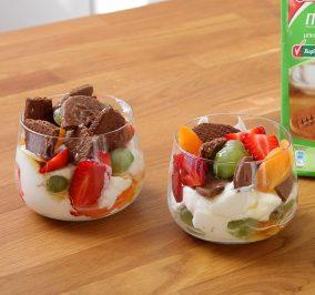 image for Ελαφρύ Trifle με ΠολυΔημητριακά Παπαδοπούλου με κακάο χωρίς ζάχαρη