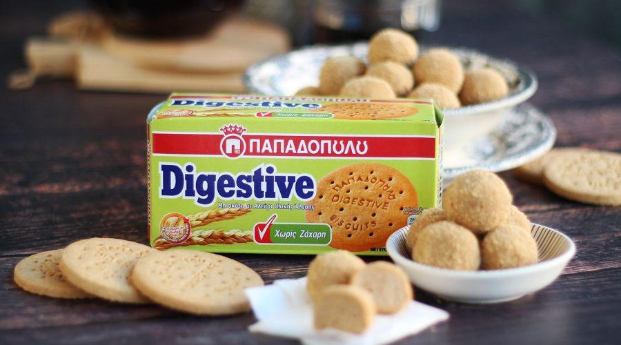 Top slider image for Τρουφάκια μπισκότου με Digestive Παπαδοπουλου χωρίς ζάχαρη