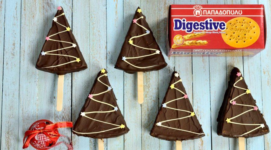 Top slider image for Cheesecake pops χριστουγεννιάτικα δέντρα με Digestive Παπαδοπούλου