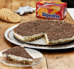 image for Ginger cheesecake με Digestive Παπαδοπούλου